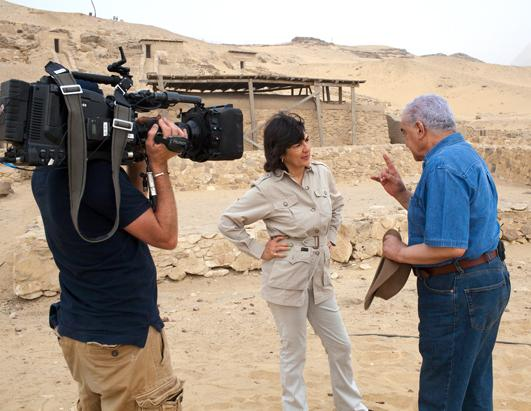 Past Preservers helps Christiane Amanpour retrace the Bible in Egypt