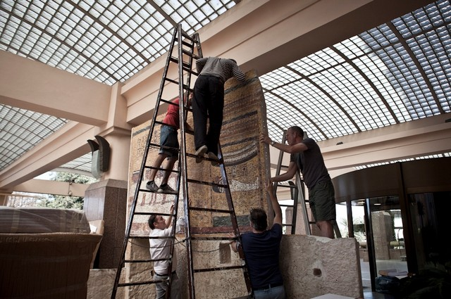 Past Preservers assists Factum Arte with the replica of Tutankhamun's Tomb