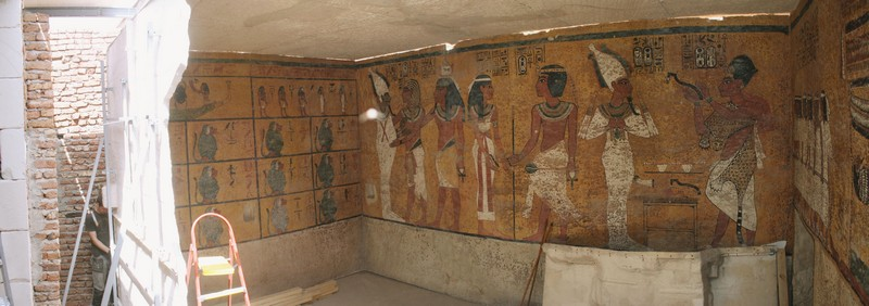 Official Opening of the Facsimile of King Tutankhamun's Tomb