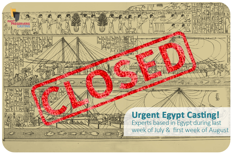 Urgent Egypt Casting!