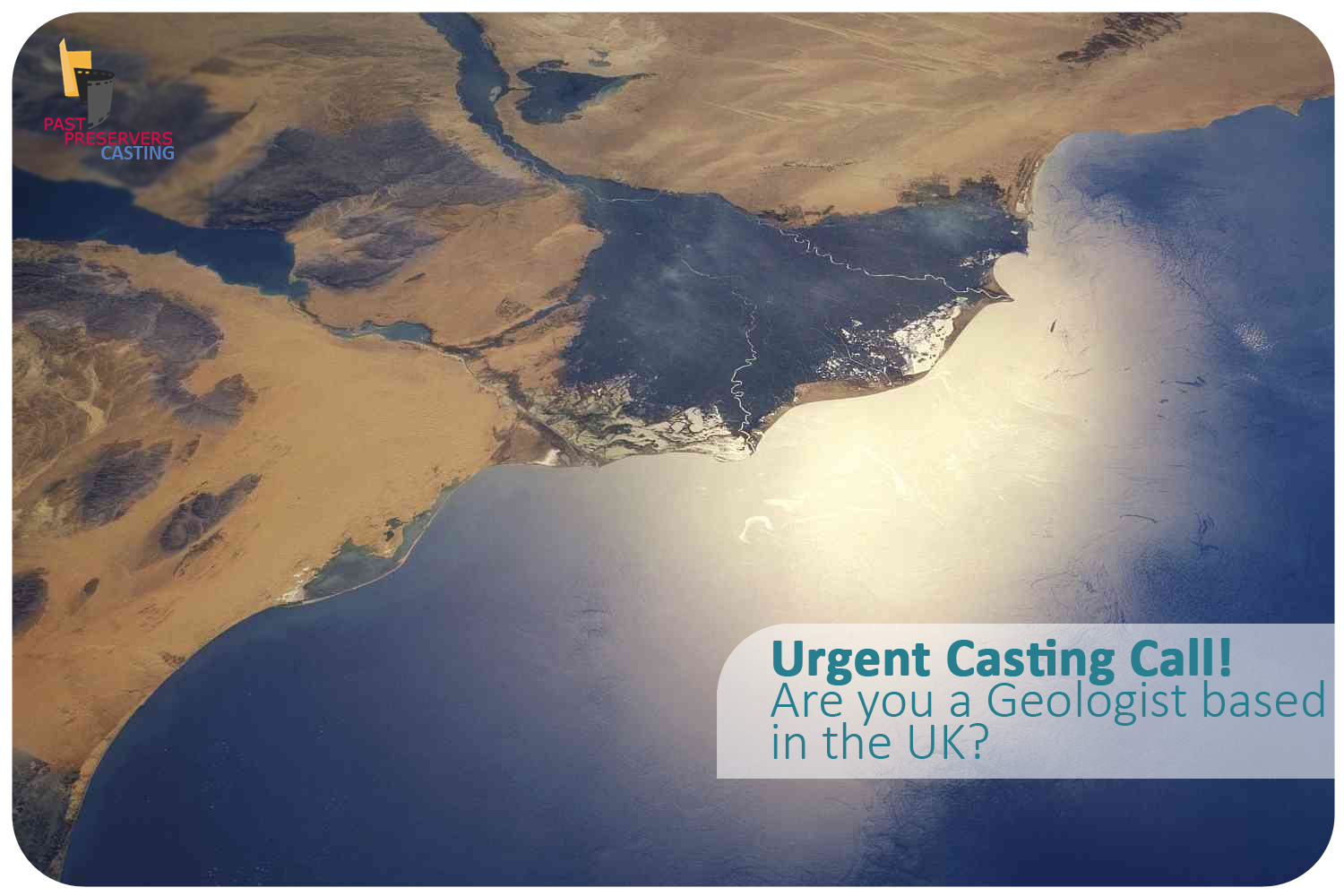 Urgent casting call for a Geologist!
