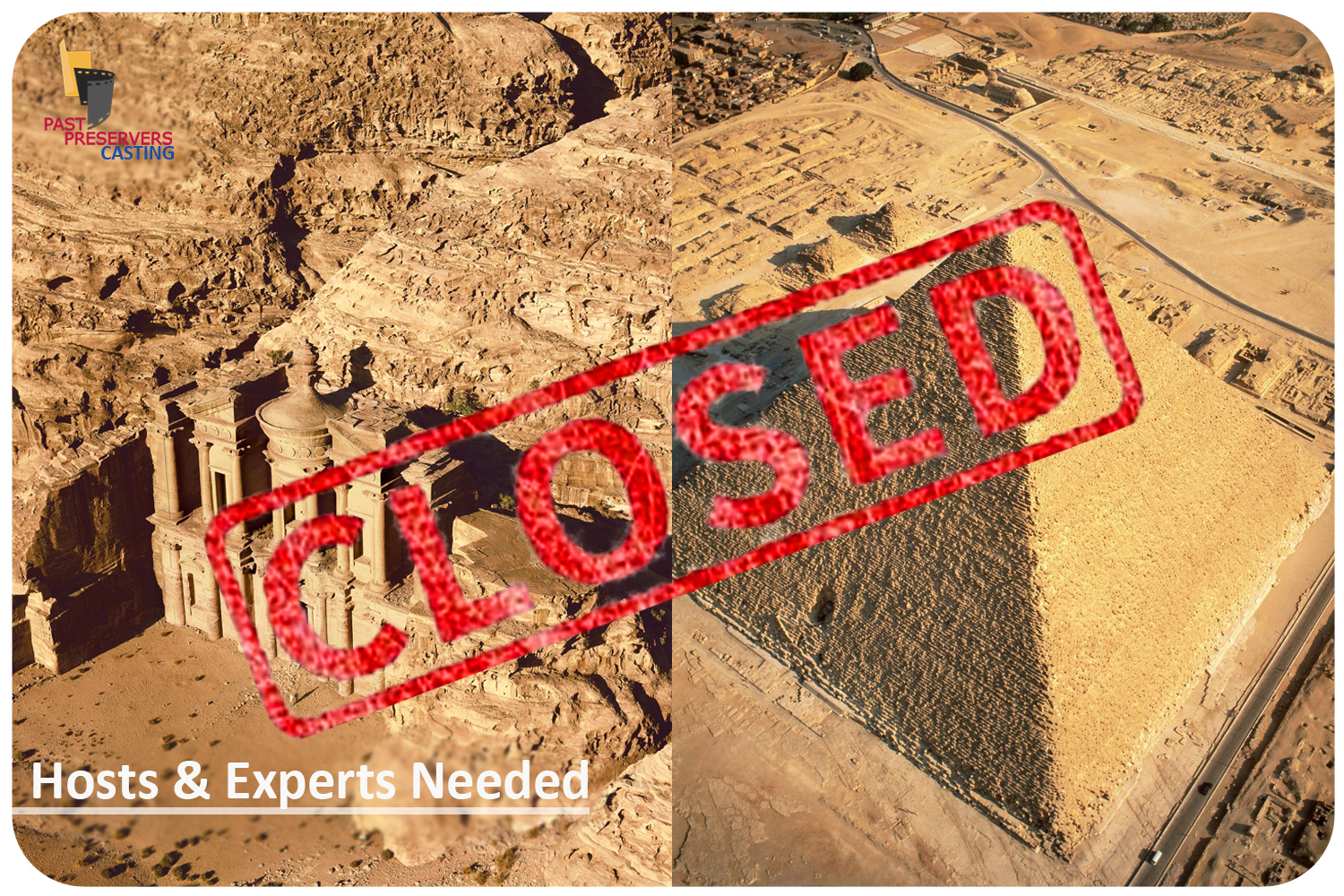 Experts Needed for Egypt & Jordan Video Series