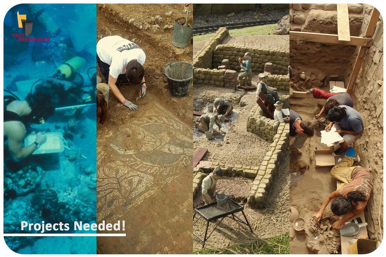 Seeking Archaeological Projects Worldwide!