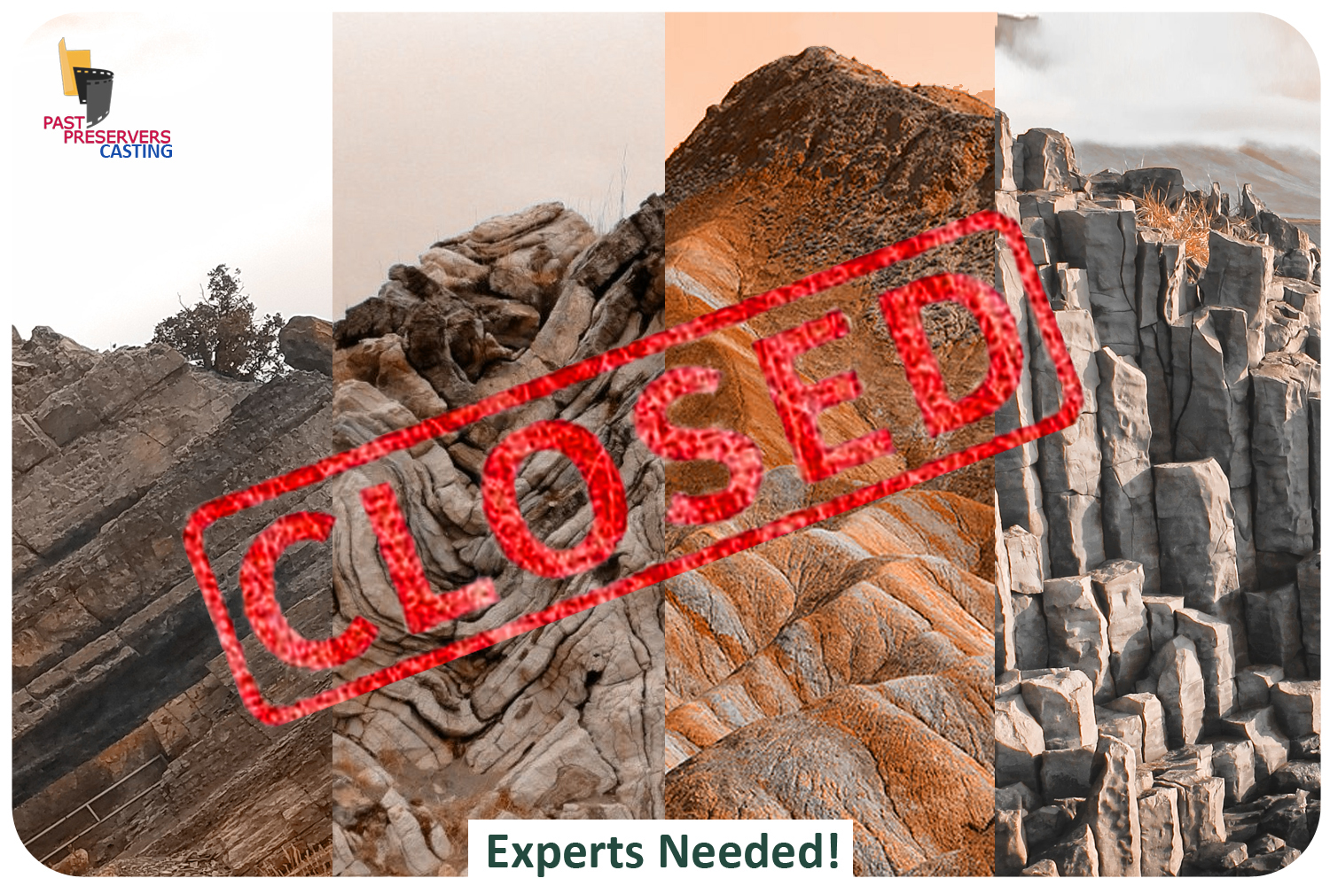 Expert Geologists Needed!