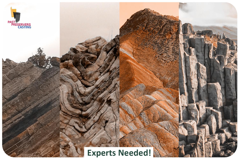 Expert Geologists Needed!