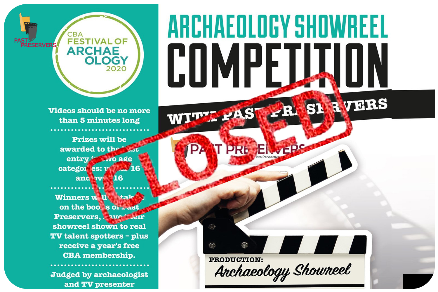 Archaeology Showreel Competition
