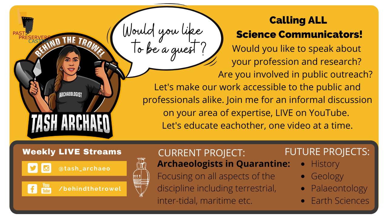 Archaeologists in Quarantine Podcast!