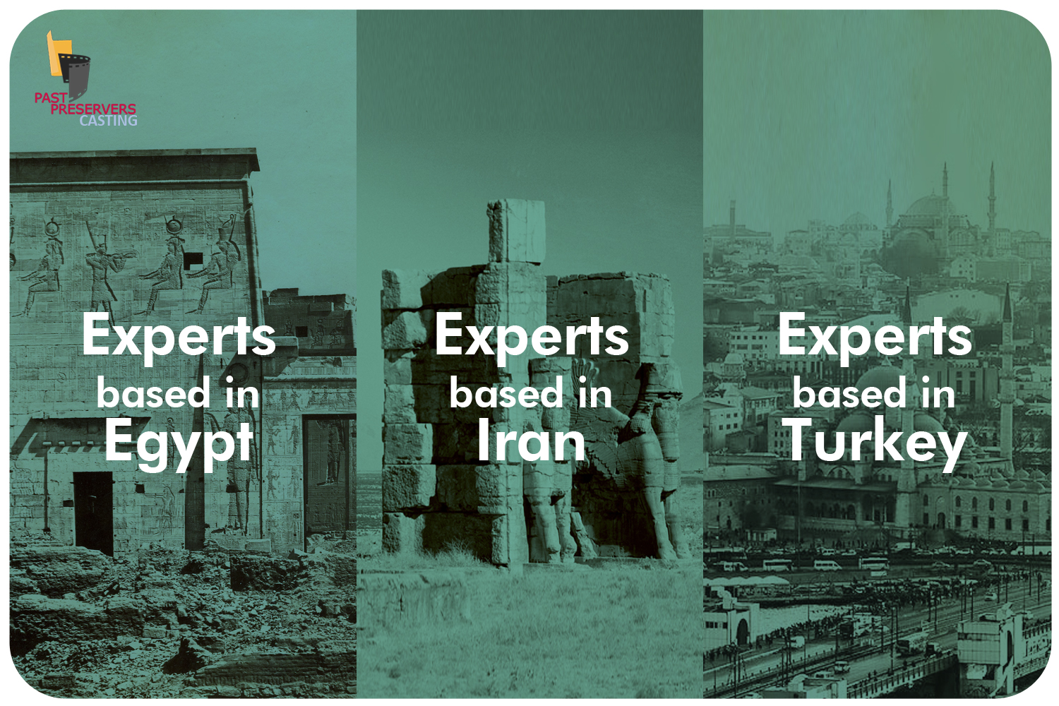 Experts based in Egypt, Iran & Turkey Needed!